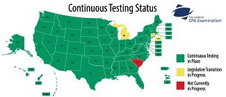 First Continuous Testing CPA Scores Due Out This Week