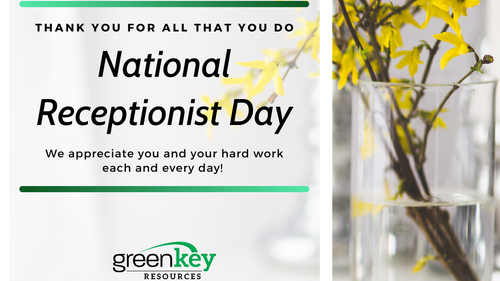 Thank You To Receptionists For Everything You Do