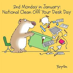 Get Out the Windex and Clean Your Desk