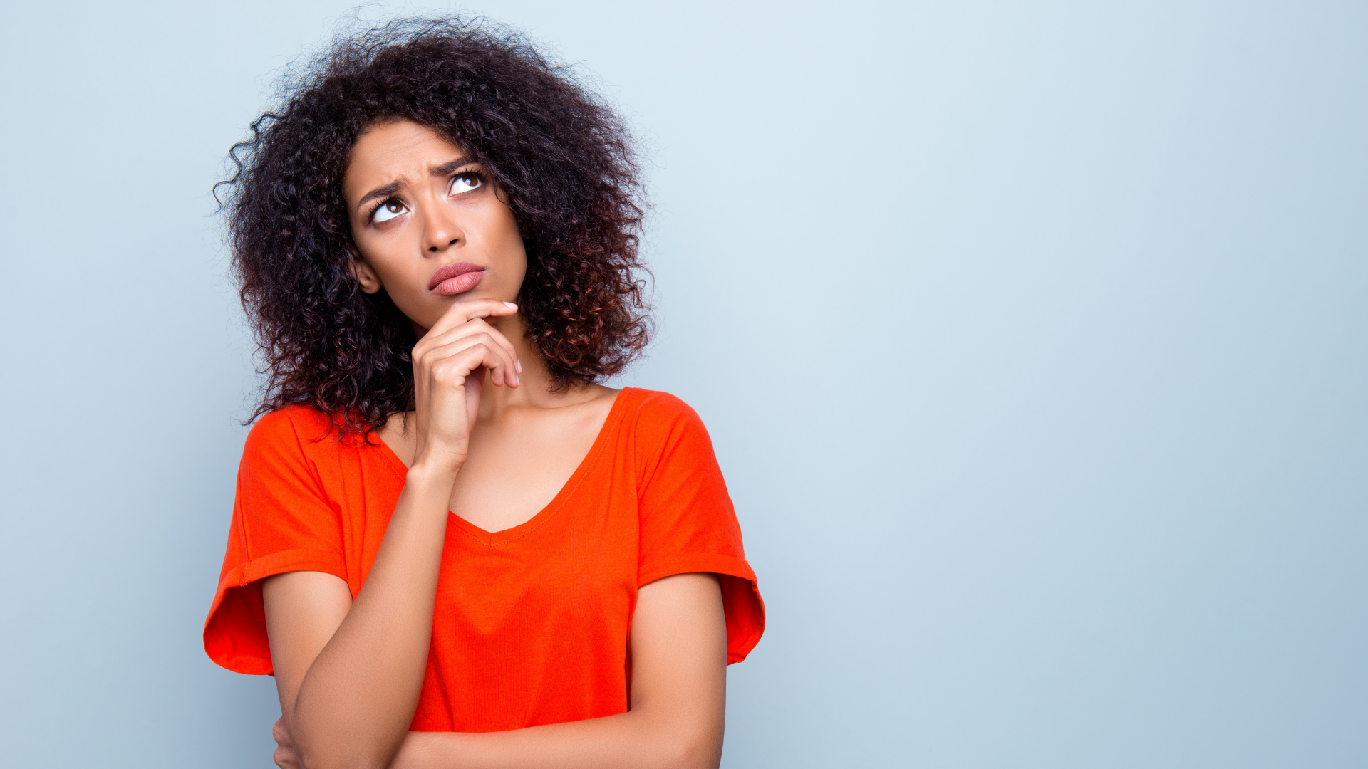 woman considering a counteroffer
