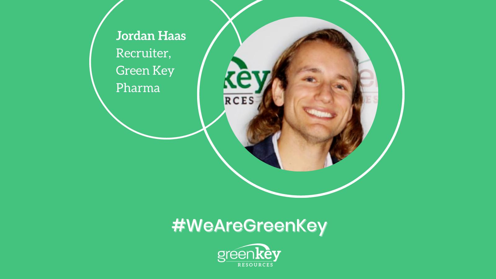 Jordan Haas - Recruiter, Green Key Pharma