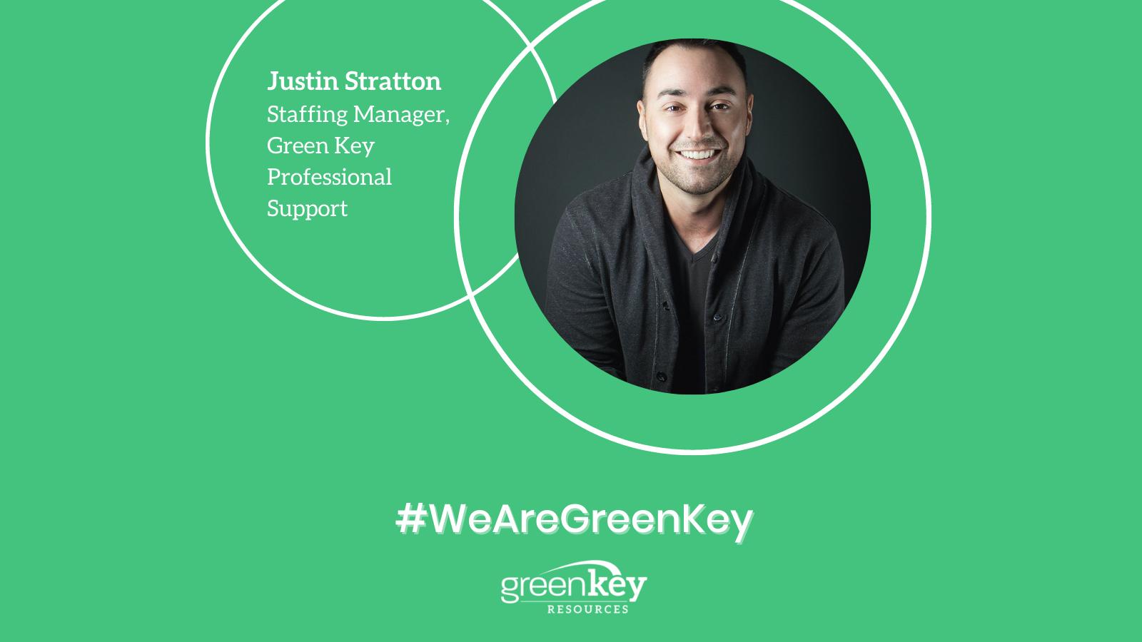 #WeAreGreenKey: Spotlight on Justin Stratton
