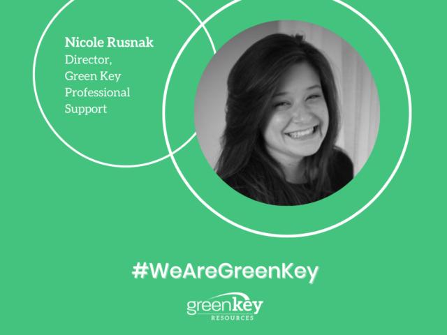 #WeAreGreenKey: Spotlight on Nicole Rusnak